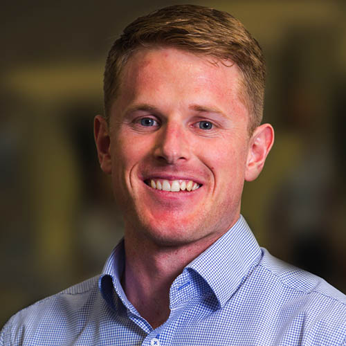 Headshot of Josh McCabe - Physiotherapist at QSMC