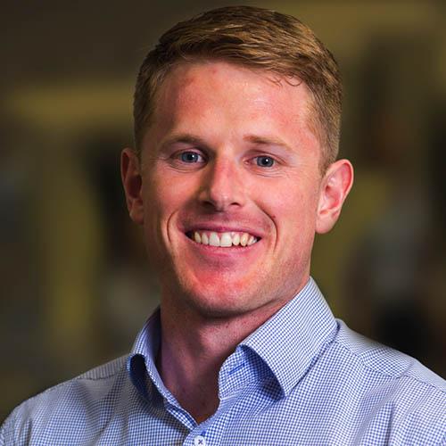 Headshot of Josh McCabe - Physiotherapist at QSMC