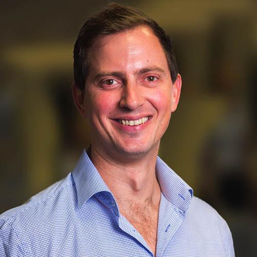 Headshot of Geoff de Jager - Sports Physiotherapist